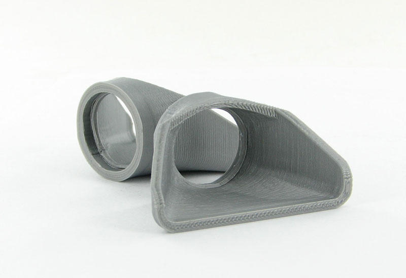 50-126-GY - 3d To Scale Concrete Flared Culvert Ends fits 36