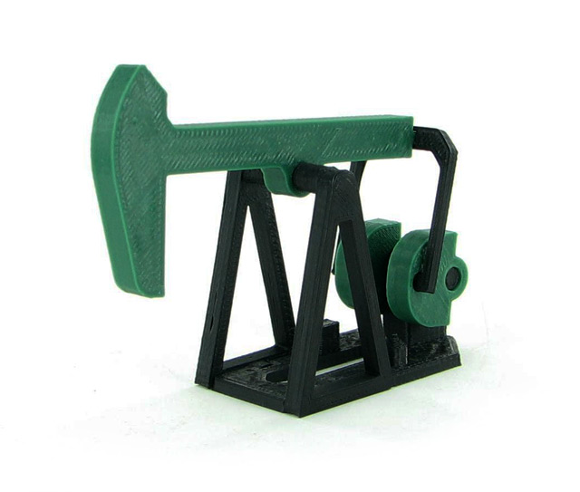 50-410-DG - 3d To Scale Oil Field Pumpjack Nodding Donkey Kit