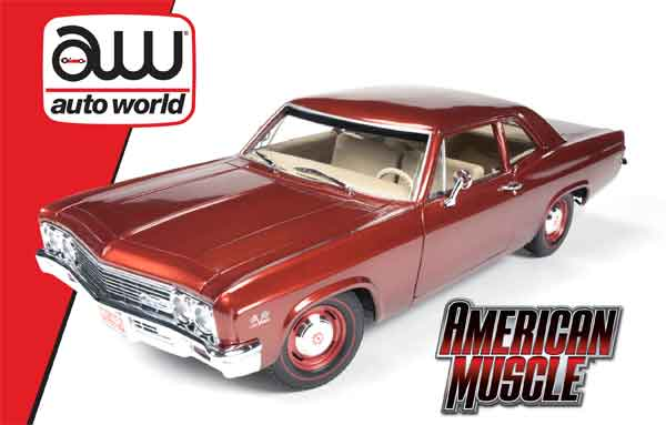1053 - American Muscle 1966 Chevrolet Biscayne Coupe