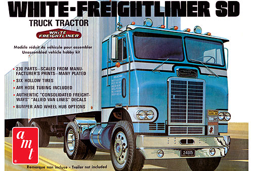1004 - AMT Freightliner Single Drive Tractor