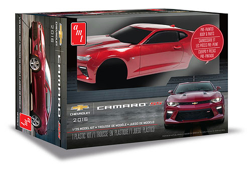 1020 - AMT 2016 Chevy Camaro SS