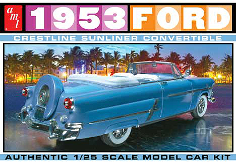 1026 - AMT 1953 Ford Convertible