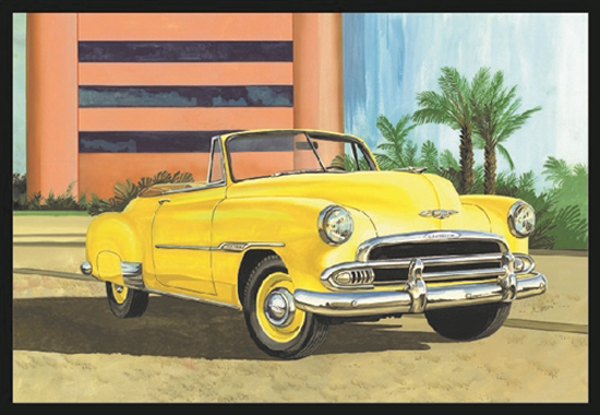 1041 - AMT 1951 Chevy Convertible
