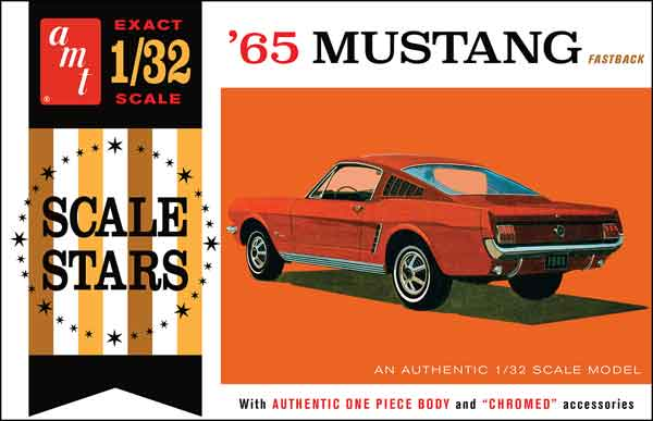 1042 - AMT 1965 Ford Mustang Fastback