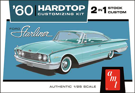 1055 - AMT 1960 Ford Starliner