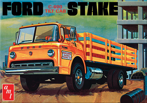 650 - AMT Ford C 600 Stake Bed Truck
