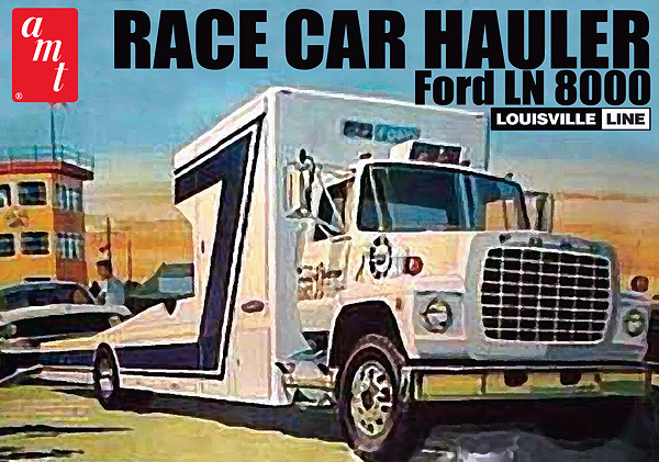 758 - AMT Ford LN 8000 Race Car hauler