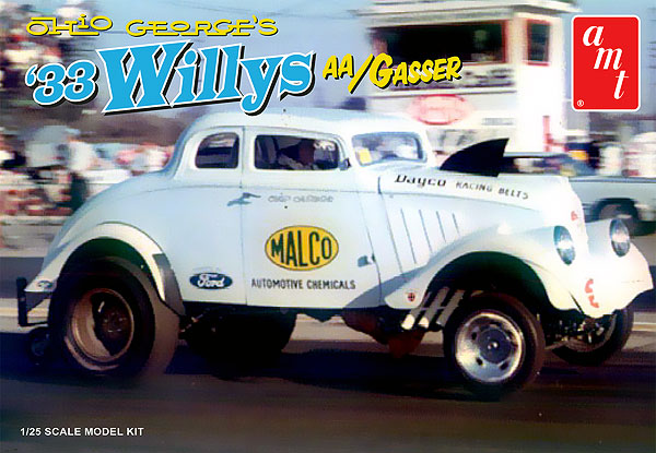 770 - AMT Ohio George 1933 Willys Gasser