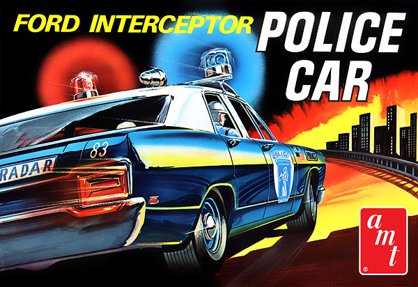 788 - AMT 1970 Ford Interceptor Police Car