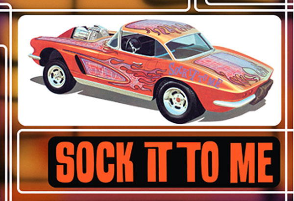 803 - AMT Sock it to Me 1962 Chevrolet