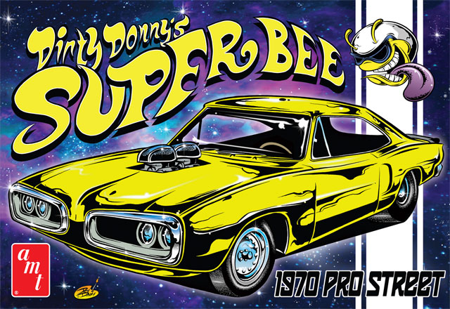 806 - AMT Dirty Donnys Super Bee 1970 Dodge
