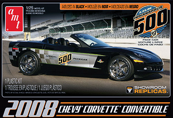 816 - AMT 2008 Corvette Convertible Indy Pace Car