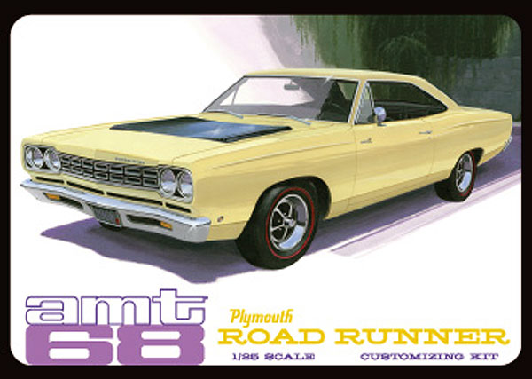 821 - AMT 1968 Plymouth Roadrunner