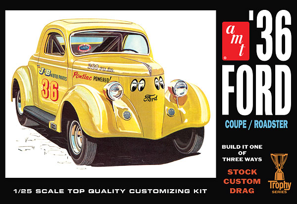 824 - AMT 1936 Ford Coupe Trophy Series