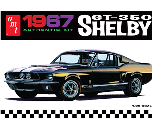 834 - AMT 1967 Ford Shelby GT350