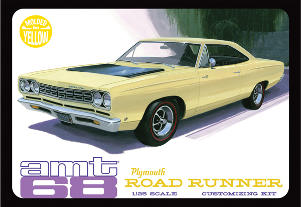 849 - AMT 1968 Plymouth Roadrunner