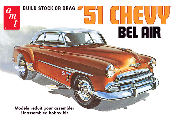 862 - AMT 1951 Chevy Bel Air