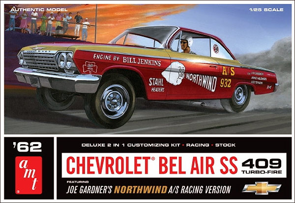865 - AMT 1962 Chevy Bel Air Super Stock