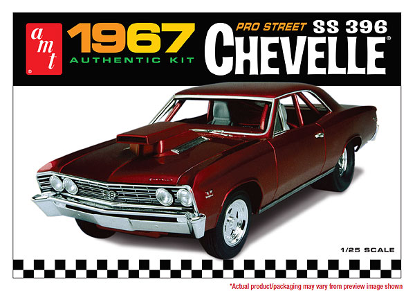 876 - AMT 1967 Chevy Chevelle Pro Street