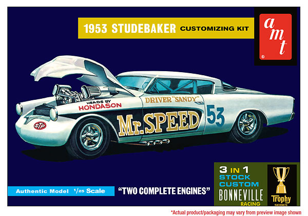 877 - AMT 1953 Studebaker Starliner Mr Speed