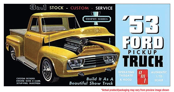 882 - AMT 1953 Ford Pickup