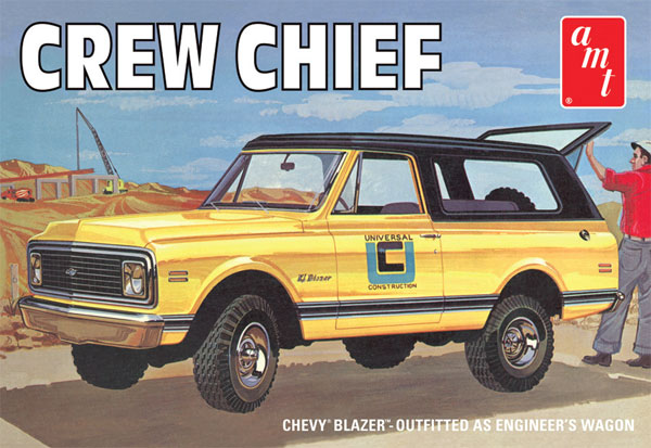 897 - AMT 1972 Chevrolet Blazer Crew Chief Optional