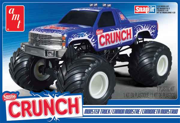 911 - AMT Nestle Crunch Chevrolet Monster Truck