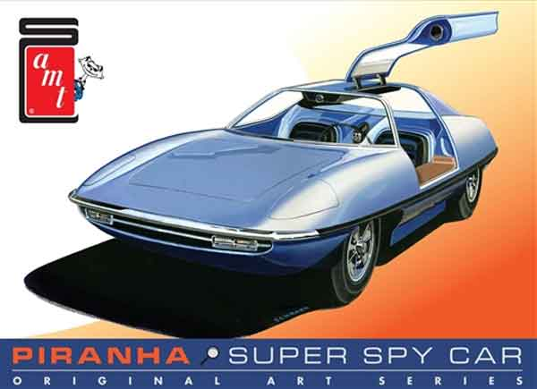 916 - AMT Piranha Spy Car Original Art Series