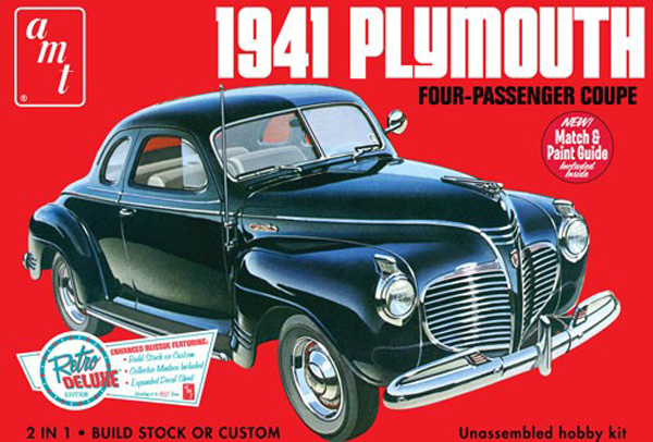 919 - AMT 1941 Plymouth Coupe