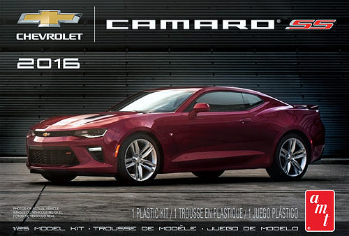 979 - AMT 2016 Chevy Camaro SS