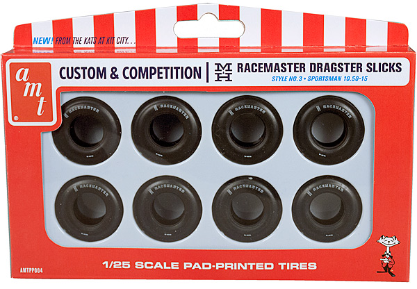 PP004 - AMT Racermasters Sportsman slicks parts pack