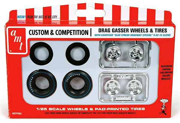 PP005 - AMT Drag Gasser Wheels and Tires Parts