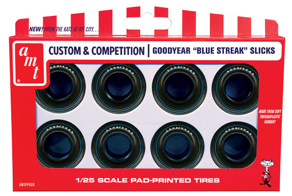 PP008 - AMT Goodyear Blue Streak Drag Slicks Parts