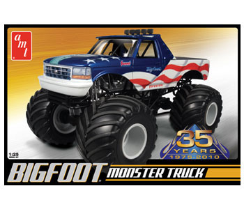 amt bigfoot ford monster truck. Black Bedroom Furniture Sets. Home Design Ideas