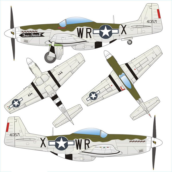 770184 - Arsenal-m P 51D Mustang Fighter Plane 8th