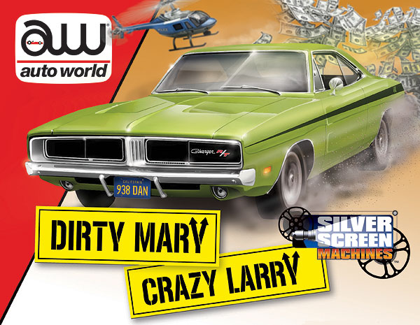 101 - Auto World 1969 Dodge Charger R_T from Dirty