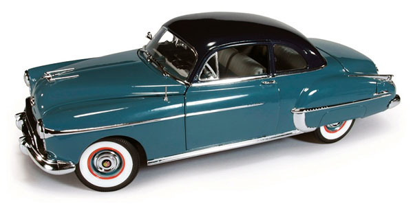 103-X - Auto World 1950 Oldsmobile Rocket 88 Club Coupe