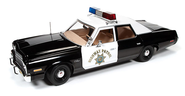 112 - Auto World Highway Patrol 1975 Dodge Monaco Police