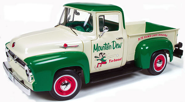 211-X - Auto World Mountain Dew 1956 Ford