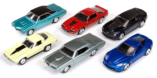 64001-B-CASE - Auto World Release B Six Piece