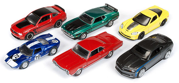 64003-A-CASE - Auto World 1 64 Diecast Licensed