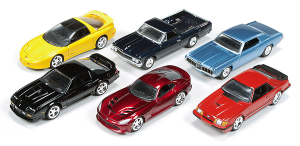 64011-B-CASE - Auto World 1 64 Diecast Deluxe