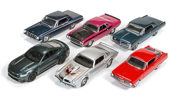 64032-A-CASE - Auto World 1 64 Diecast Premium