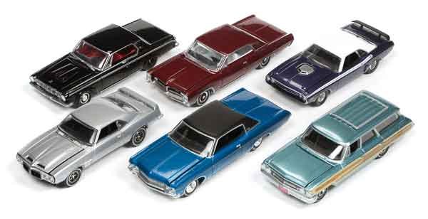 64052-A-CASE - Auto World 1 64 Diecast Premium