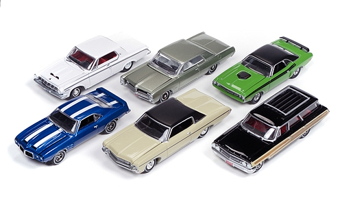 64052-B-SET - Auto World 1 64 Diecast Premium
