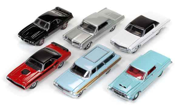 64052-C-SET - Auto World 1 64 Diecast Premium