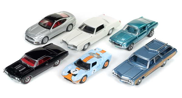 64062-A-CASE - Auto World 1 64 Diecast Premium