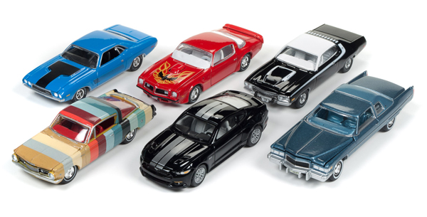 64112-B-SET - Auto World 1 64 Diecast Premium