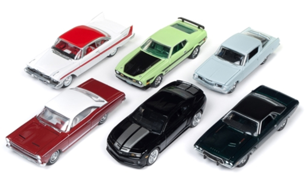 64152-A-SET - Auto World 1 64 Diecast Premium