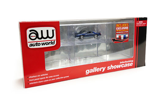 AWDC002 - Auto World 6 Car Interlocking